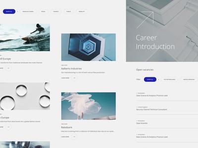 Viqtor Davis — Page elements branding ux webdesign web platform elements website ui interface design