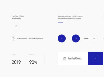 Viqtor Davis — Styleguide minimal branding ux platform webdesign web website ui design interface