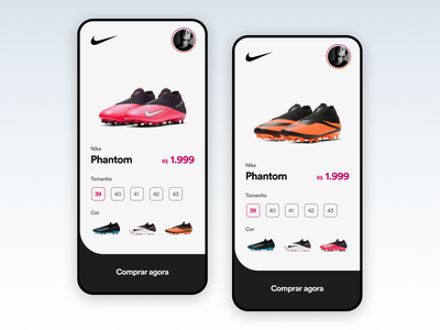 Nike app UI Challenge user experience user interface ux ui nike uitrends ios interface interaction design inspiration designinspiration creative concept clean appdesign app design