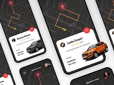 Ride app UI Challenge app design interface ux user experience uitrends creative designinspiration inspiration ui clean app design