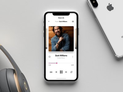 Music app appdesign uitrends ux ui inspiration designinspiration creative clean app design