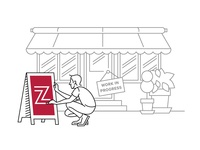 Zagat Disclaimer Illustration