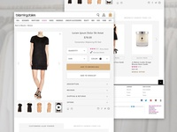 Bloomingdale's Product Page Redesign