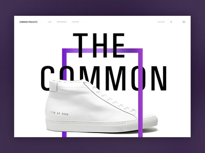 Common Projects Exploration