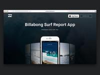 Billabong Surf Report is Live!