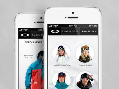 Pro Rider Series (mobile mockups)