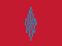 Tuscan alphabet