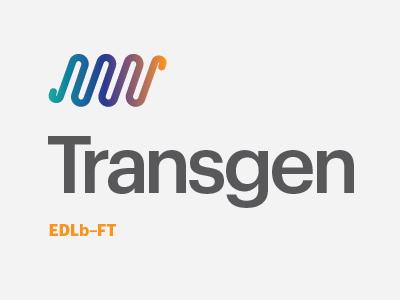 Transgen medicine branding packaging logotype identity