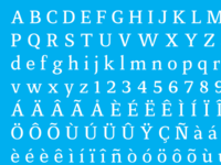 Tetrica Typeface