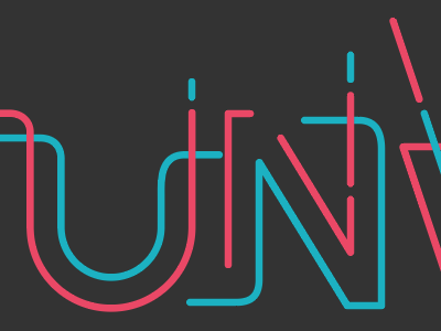 Unwind Sessions Preview branding lettering logotype