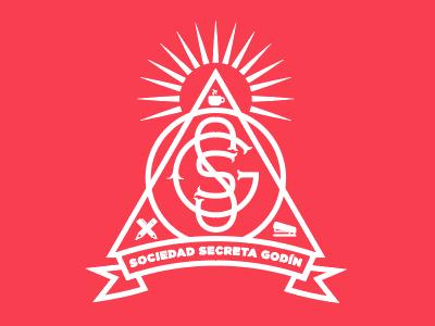 Sociedad Secreta Godín logotype monogram