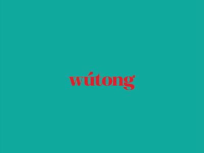Wútong Logo serif bold design branding