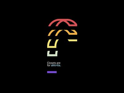 Rainbow's Shirt Graphic icon vector lgbt lgbtq glyph shirtdesign shirt design shirts