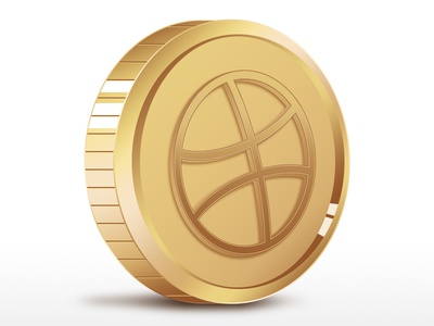 Dribbble Commemorative Coin forfun invitation coin commemorative dribbble