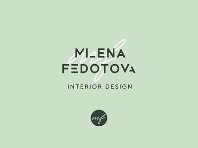 Logo for interior designer beauty logo logoinspiration logofolio designer logo beauty identity logotype branding logo icon vector design typography creative