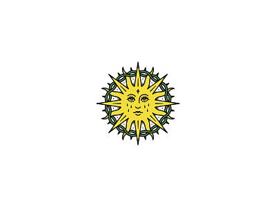 Sun sun rad occult merchandise illustration band tattoo dooom design merch