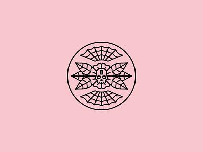 Secret occult merchandise skull patch illustration band tattoo merch dooom design