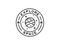Badge - Space