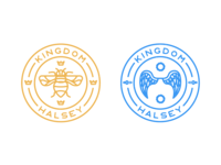 Badges - Halsey Kingdom