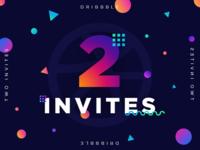 2 Invitations - Giveaway