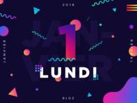 Lundi 1 Janvier 2018 - 1/365