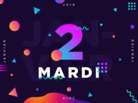 Mardi 2 Janvier 2018 -  2/365