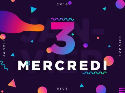 Mercredi 3 Janvier 2018 -  3/365