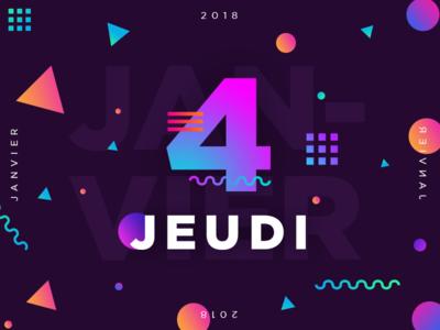 Jeudi 4 Janvier 2018 - 4/365