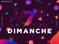 Dimanche 7 Janvier 2018 - 7/365