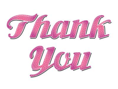 gratitude lettering type debut