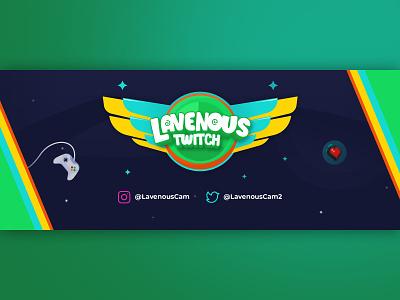 LavenousTwitch Twitch Banner banner lavenouscam lavenoustwitch gaming twitch