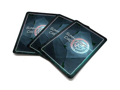 Summoner's Circle card game game cards