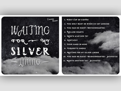 Waiting for My Silver Lining album artwork album lining silver weaver cameron staircase wit