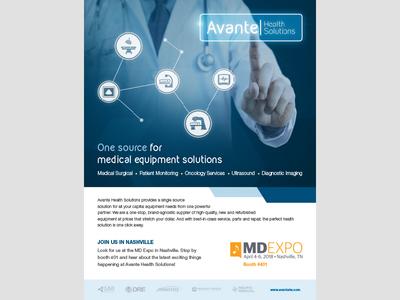 Avante Health Solutions Ad