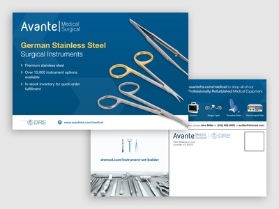 Surgical Instruments Postcard