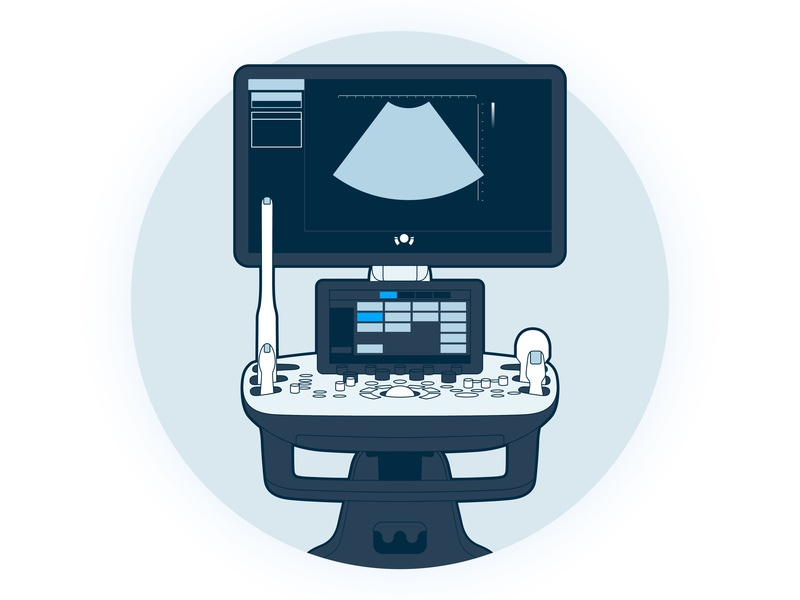 Ultrasound Machine Graphic samsung avante health solutions equipment medical icon solutions health avante machine ultrasound
