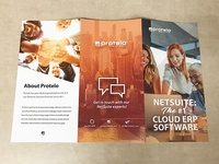 Trifold Brochure for Protelo