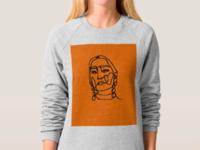 custom linear portraits