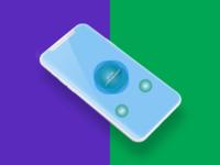 Iphone X Clash design development (personal project)