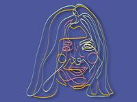 portrait of Nastya