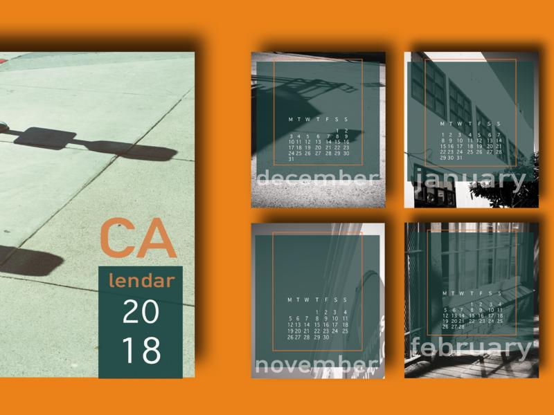 Calendar 2018 part 3 (alternative)