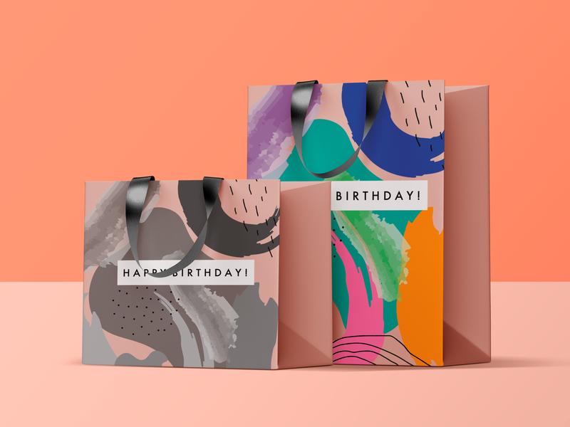 birthday bags of 2019 vector design illustration graphic design adobe