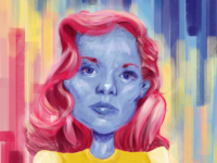 Lauren Bacall - an experimental portrait