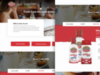 Dairy Farm Product Page