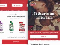 Gustafson Dairy Farms Home Mobile