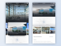 Airport Concierge App Concept