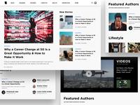 Blog Homepage Layout Exploration