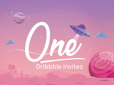 Invite Dribbble