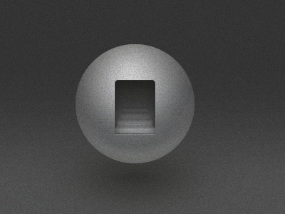Sphere and Stairs rebound icon