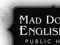Mad Dogs and Englishmen Typographic Logo